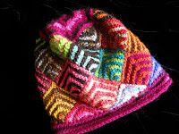 dizzylettuce knits: Mitered Square Cap