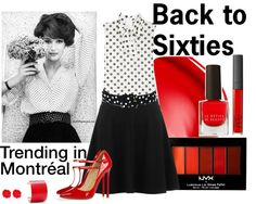 """Montreal- Back to Sixties"" by laureline-b on Polyvore"