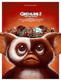 Gremlins The New Batch - movie poster Best Movie Posters, Cinema Posters, Movie Poster Art, Scary Movies, Old Movies, Horror Movies, 1990 Movies, 2018 Movies, Culture Pop