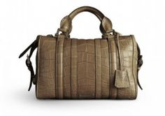 Burberry Alligator Tote Exclusively at Harrods