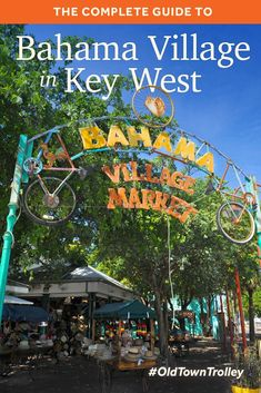 Learn about Bahama Village In Key West with our complete information guide featuring historical facts, interactive map, pictures, and things to do nearby. Florida Keys Honeymoon, Florida Keys Camping, Florida Vacation, Florida Travel, Florida Beaches, Vacation Trips, Travel Usa, Vacation Ideas, Vacation Outfits