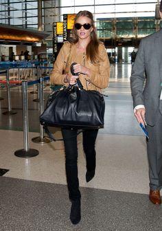 Model's Style: Rosie Huntington-Whiteley at LAX