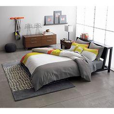 bedroom furniture cb2. alpine gunmetal bed bedroom furniture cb2