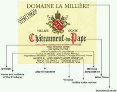 Wine label 101