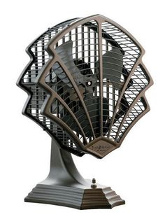 Art Deco Fan (omg the detailing!)