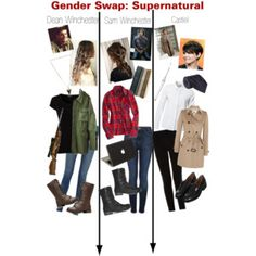 Gender Swap: Supernatural