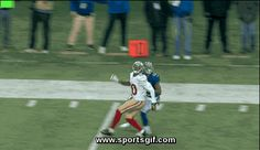 New York Giants Wide Receiver Odell Beckham Jr makes one of the best catches of the 2014 NFL season