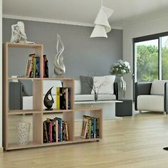 open divider shelf - Google Search Bookshelves, Bookcase, Maximize Space, Storage Solutions, Clutter, Shelving, Small Spaces, Divider