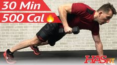 30 Minute HIIT Workout - Spartan Warrior Fat Burning High Intensity Inte...