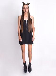 SD Hoop Zipper Long Tee/ Dress