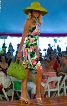 This is a great derby look from Lilly Pulitzer.