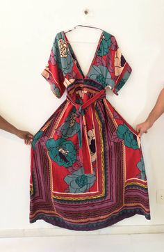 vestido kimono farm - vestidos farm