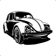 [ Volkswagon Vw Bug Beetle Retro Car Hipple Wall Art Sticker Mural Vinyl Cute Bug Blue Green Insects Baby Boys Nursery Wall Stickers ] - Best Free Home Design Idea & Inspiration Vw Bugs, Volkswagon Bug, Volkswagen Golf, Carros Retro, Bugs Drawing, Train Illustration, Silhouettes, Truck Detailing, Beetle Car