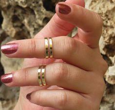 Goldfilled stacking ring