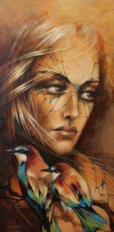 victoria stoyanova art | Scent of a Woman | Victoria Stoyanova, 1968 | Tutt'Art@ | Pittura ...