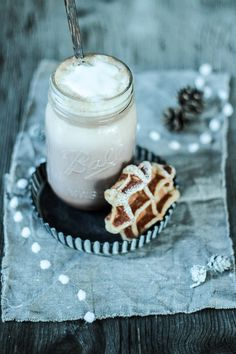 ... belgian waffles ...