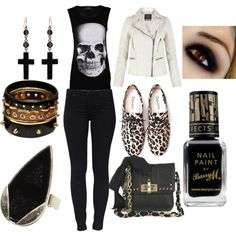Rock n Roll, created by lourdesgomes on Polyvore