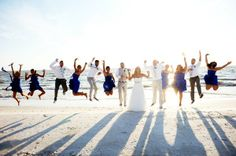We want to be party of THAT bridal party! How fun do they look like they are having? {Dream in Ruffles Events, Inc.}