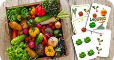 UNO, légumes, maternelle, GS, MS, jeu, carte, numération