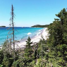This Trail Takes You To Beaches, Waterfalls And Bridges In Ontario - Narcity One of the best hikes in the province. Weekend Trips, Day Trips, Beaches In Ontario, Ontario Parks, Canadian Travel, Canadian Rockies, Ontario Travel, World Travel Guide, Secluded Beach
