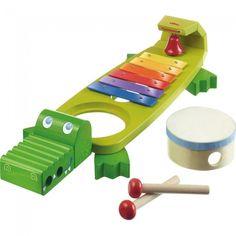 Crocodile musical - Castello   Jeux et Jouets