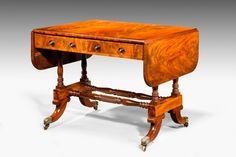 Regency Period Mahogany Sofa Table (Ref No. 4881) - Windsor House Antiques