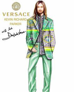 Atelier Versace, Duster Coat, Illustration, Jackets, Fashion, Down Jackets, Moda, Fashion Styles, Illustrations