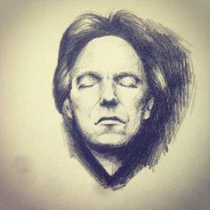 #alanrickman #drawing