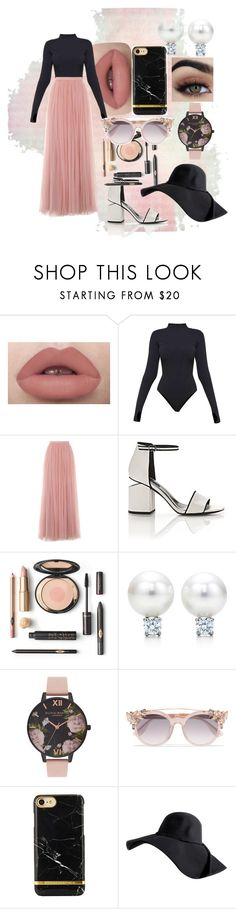 """""""Untitled #19"""" by eva-l118 ❤ liked on Polyvore featuring Ivy Park, Little Mistress, Alexander Wang, Olivia Burton and Jimmy Choo"""