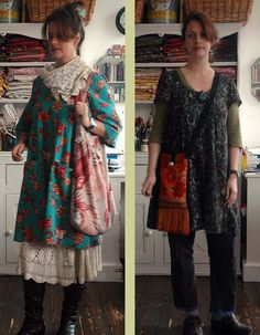 looking for tunic patterns and love Japanese fabrics and style - lovely take on it!