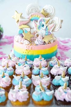 Get inspirational unicorn cake ideas from this image gallery of unicorn cake designs and cake toppers ideal for birthdays and kids parties Unicorn Cake Design, Cake Decorating Set, Nordic Ware, Good Grips, Unicorn Birthday, Cake Designs, Cake Toppers, Birthdays, Unicorn Cupcakes