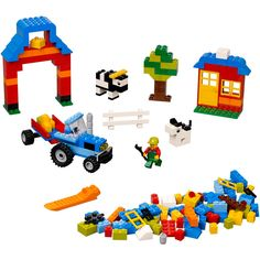 Lego Bricks & More Farm Brick Box