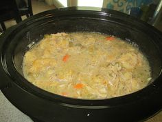 Yay Fall! Crockpot Chicken and Dumplings