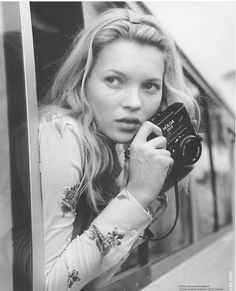 I really work. I like feeling that I've nailed it, and we've got the picture.-Kate Moss