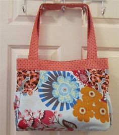 love this bag! esay pattern, use coupon code sfnc2012 for 20% off pattern!