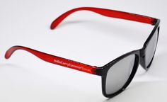 404's -Red/Black with Smoke Lenses