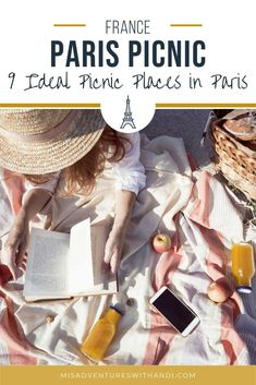 A Parisian picnic is the absolute best way to feel like a local. Here are 9 ideal picnic places in Paris for the perfect Parisian picnic! A guide to the best picnic spots in Paris, Frace! Paris France Travel, Paris Travel Guide, Europe Travel Tips, European Travel, Travel Guides, London Travel, Time Travel, Picnic In Paris, Places In Europe