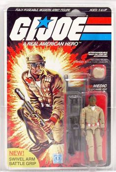 Doc (v1) G.I. Joe Action Figure - YoJoe Archive