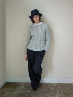 #knitting #knit #sweater #pullover #handmade #diy #knitwear