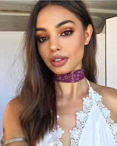 light-pink-lip-gloss-more-popular-than-ever - More Beautiful Me 1 Makeup Goals, Makeup Inspo, Makeup Inspiration, Beauty Makeup, Eye Makeup, Hair Makeup, Hair Beauty, Elizabeth Sawatzky, Monochromatic Makeup