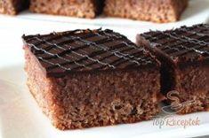 Kakaós-csokoládés-almás szelet   TopReceptek.hu 20 Min, Food, Eten, Meals, Diet