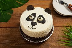 Penelope the Panda 2 Year Old Birthday Cake, Panda Birthday Cake, Cake Decorating Set, Cake Decorating Videos, Doraemon Cake, Bolo Panda, Panda Cakes, Cake Hacks, Animal Cakes