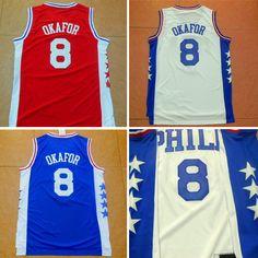 Aliexpress.com   Buy Jahlil Okafor Jersey Philadelphia  8 Basketball Jersey 4a8880327