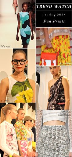 #NYFW Spring 2013 Trend Watch with @Glitter Guide: Fun Prints