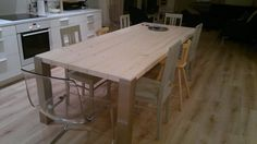 lankkupöytä Dining Table, Rustic, Furniture, Home Decor, Country Primitive, Decoration Home, Room Decor, Dinner Table, Retro