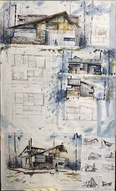Interesting Find A Career In Architecture Ideas. Admirable Find A Career In Architecture Ideas. Architecture Résidentielle, Architecture Concept Drawings, Landscape Architecture Drawing, Architecture Sketchbook, Modern Architecture Design, Architecture Visualization, Architecture Portfolio, Architecture Presentation Board, Layout