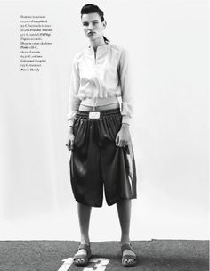 visual optimism; fashion editorials, shows, campaigns & more!: sul ring: esmee vermolen by marco la conte for io donna 8th june 2013