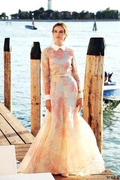 платье-рубашка, годе, органза
