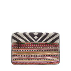 EMBROIDERED CLUTCH BAG $49.99 from Zara