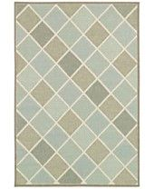 "Couristan Indoor/Outdoor Area Rug, Monaco 2470/2007 Meridian Multi 3'9"" x 5'5"""
